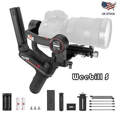Zhiyun Weebill S 3-Axis Handheld Gimbal Stabilizer for DSLR