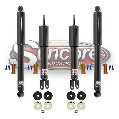 2002-2006 Cadillac Escalade 4 Wheel Active to Passive Gas Shocks Conversion Kit