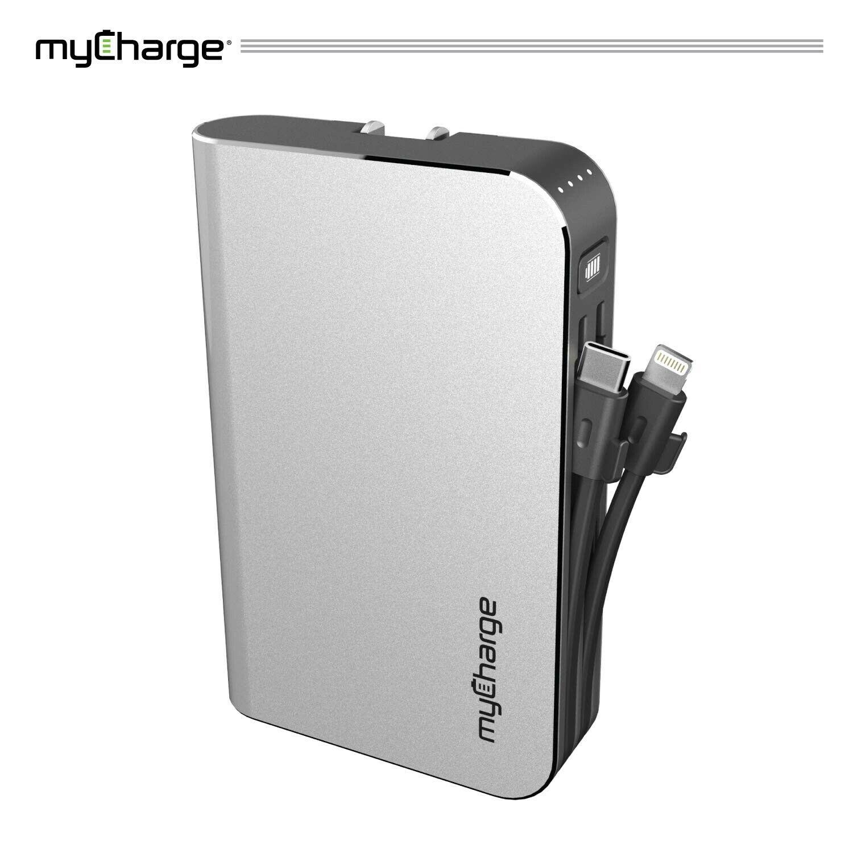 myCharge HUBMAX 10050mah Power Bank Portable Charger, Wall C