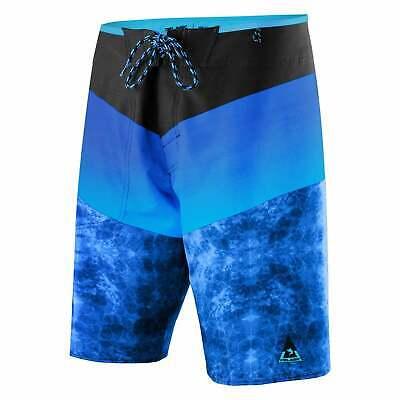 f13e46ae11 Pelagic Pinacool Stack Teflon Stretch Blue & Black Shorts Boardshorts Sz 40  NEW