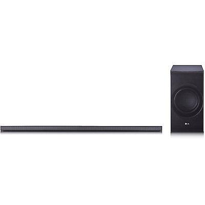 LG SJ8 300W 4.1-Channel High Resolution WiFi Bluetooth Audio Sound Bar w/ Subwoo