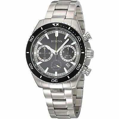 Bulova 98B298 Men's Chronograph  Black Quartz Watch