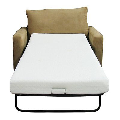 (Sofa Memory Foam Mattress Replacement Bed Twin Size Couch Sleeper Chair Futon)
