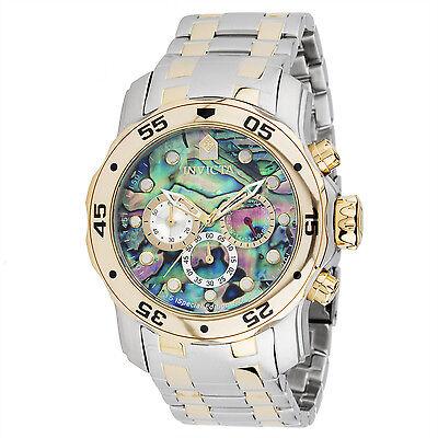 Invicta Men's 24836 Pro Diver Quartz Chronograph Rainbow Dial Watch