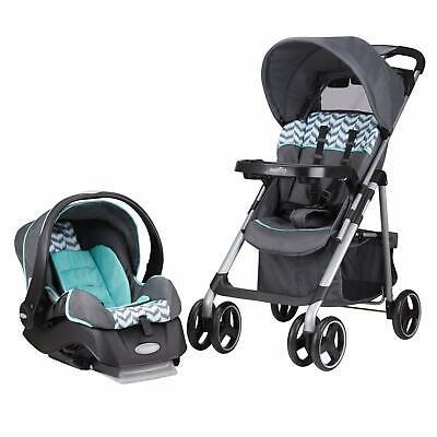 Stroller Infant Car Seat Set Baby Boy Girl Toddler Safety Travel System Folding comprar usado  Enviando para Brazil