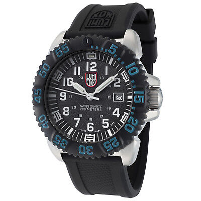 Luminox Men's 3153.BTOB Navy Seal Colormark Black Dial Steel Rubber Watch