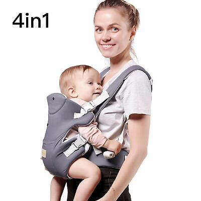 Baby Carrier Advanced 4-in-1 Convertible Carrier, Light Grey