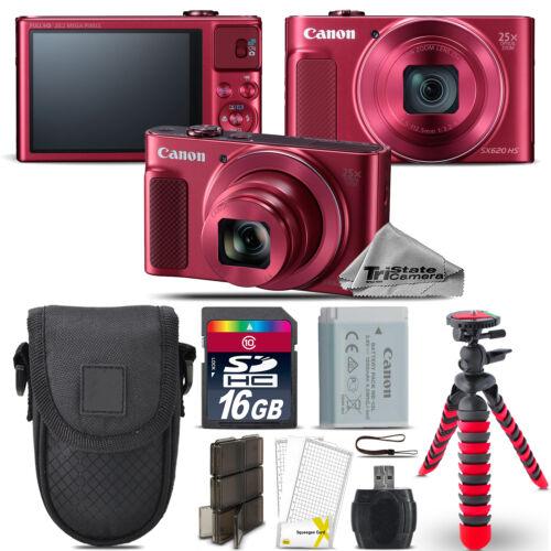 powershot sx620 hs digital camera red spider