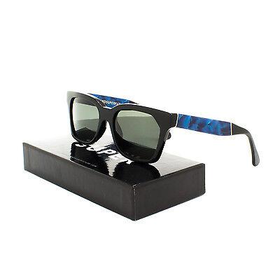 RETROSUPERFUTURE Super America Supremo Sunglasses JL5 Velvet Blue Black Lens