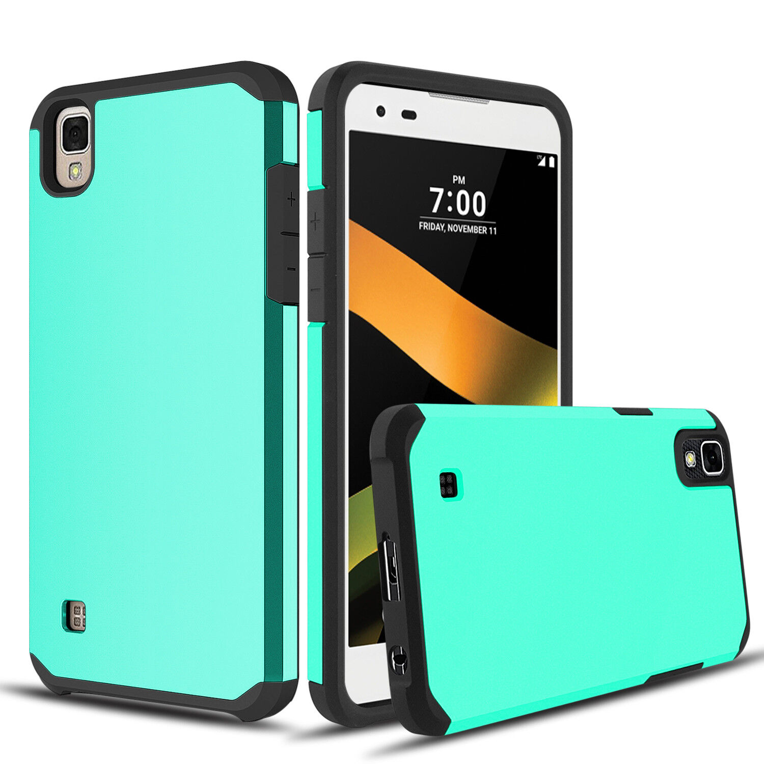 Купить ZENIC - For LG Tribute HD/X Style Case Shockproof Hybrid Rubber Armor Hard Phone Cover
