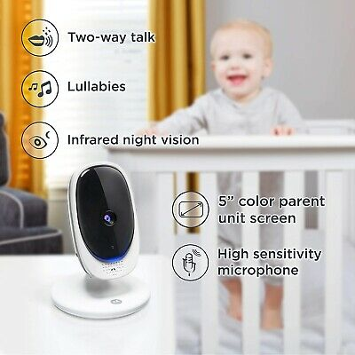 "Motorola Comfort 50 5"" Display Video Baby Monitor"