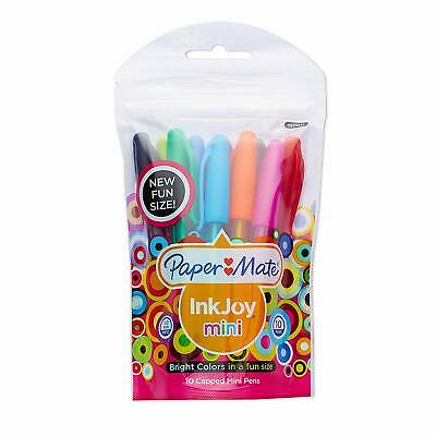 Paper Mate Inkjoy - 10 Mini Ballpoint Pens Per Pack Capped 1-pack 1920021