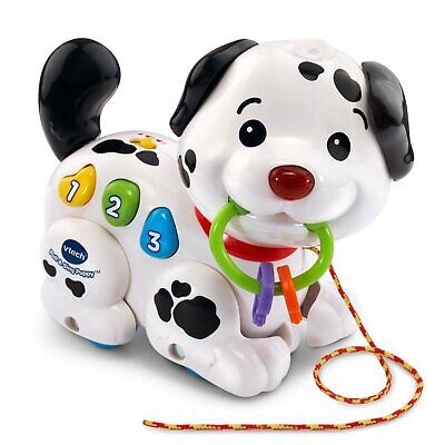 VTech Pull and Sing Puppy Dog Love Baby Kids Pet Toy Play Learn Colorful Gift