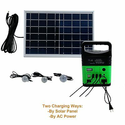 Solar Power Lighting Kit with Solar Panel and Lights