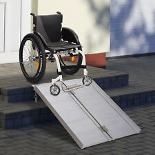 3FT Wheelchair Ramp Stairs Ramps Compact & Portable Folding ramps Aluminum
