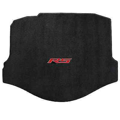 (Chevy Camaro 2010-2015 Coupe Trunk Mat - Black Ultimat - RS Logo by Lloyd Mats)