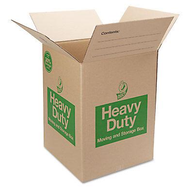 Duck Heavy-duty Movingstorage Boxes 18l X 18w X 24h Brown 280727