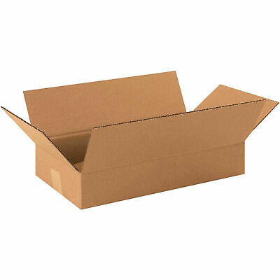 16 X 9 X 3 Long Cardboard Corrugated Boxes 65 Lbs Capacity 200ect-32 Lot