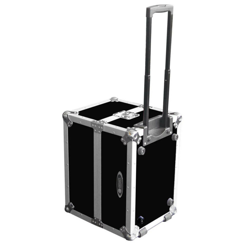 Odyssey FZLP120HW, Utility Trolley Case with Wheels for 120 12″ Vinyl Records