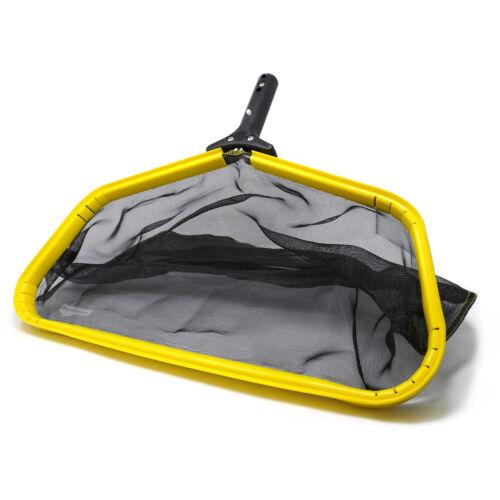 Pool Dozer Skimmer Net Heavy Duty Leaf Rake Cleaning Tool Fine Mesh Bag Catcher