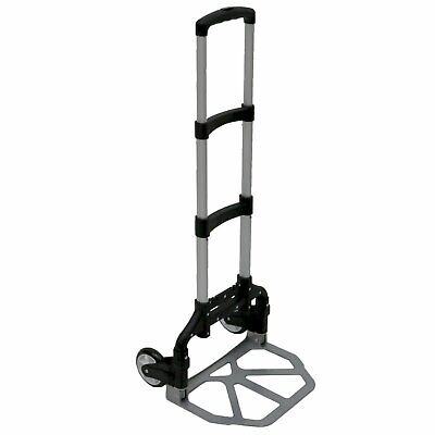 NEW! 80kg Heavy Duty Folding Foldable Hand Trolley Sack Truck Cart