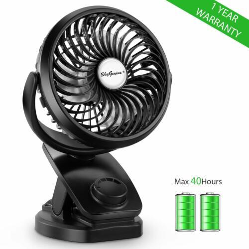 Portable Mini Fan USB Rechargeable Battery Operated Desk Fan