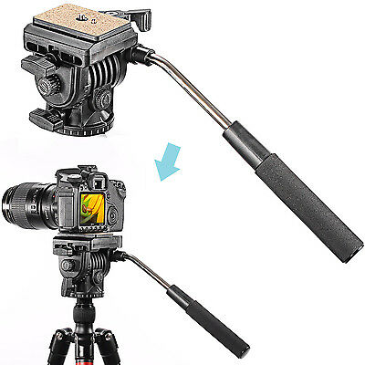 Neewer Fluid Video Head Camera Head for Camera with 1/4