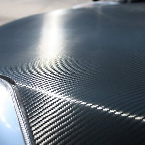 NEW Orion Carbon Fiber Hood 60x80IN Wrap Film Vinyl Sheet Roll 3D Carbon Fiber