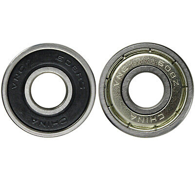 Fidget Spinner Toy Replacement Ball Bearings Rubber and Metal Shield Bulk Lots