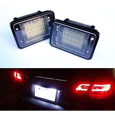 Beleuchtung Kennzeichen LED Mercedes GLK X204 06/2008 A 02/2012 Weiß