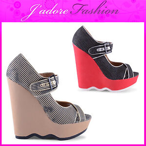 NEW-LADIES-HIGH-HEEL-WEDGE-BUCKLE-DETAIL-OPEN-TOE-COURT-SANDALS-SIZES-UK-3-8