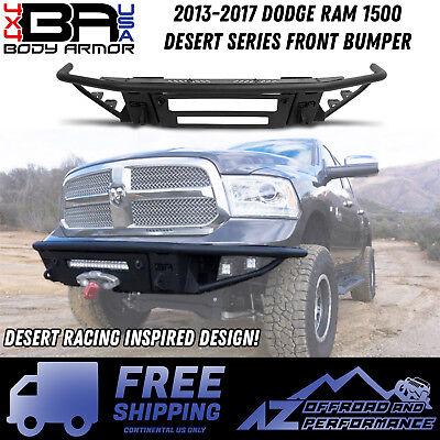 Body Armor 4X4 Desert Series Front Bumper for Dodge Ram 1500 13-17 Non-Winch ()