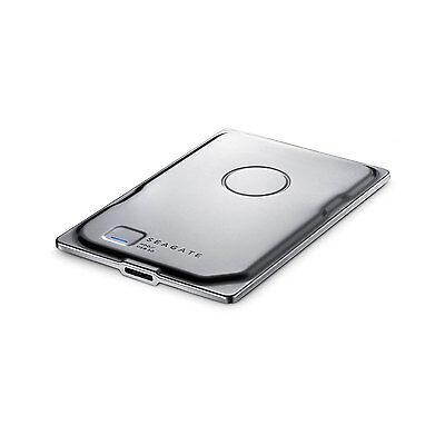 Seagate Seven Ultra Slim 500GB Portable External Hard Drive (Silver) STDZ500400