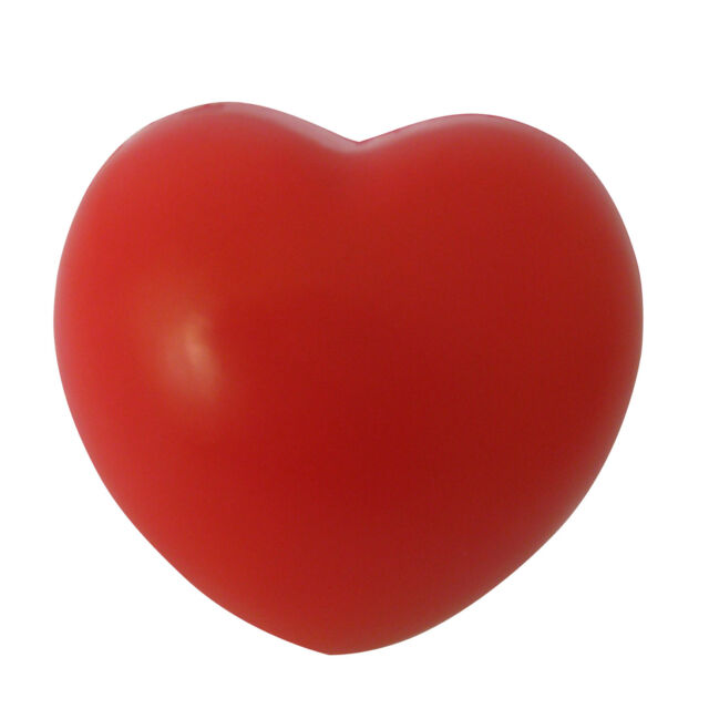Heart Stress Reliever Ball Red Baby Toy Wedding Decoraton BF