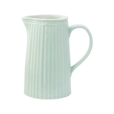 GreenGate Milchkanne Wasserkrug B-Ware Alice Pale Green Geschirr Vintage ()