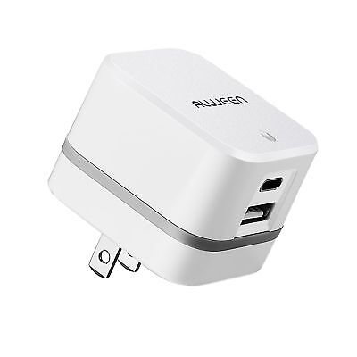 Type C USB Travel Charger with Latest Charging Tech for ALL USB Supported Device for sale  La Puente