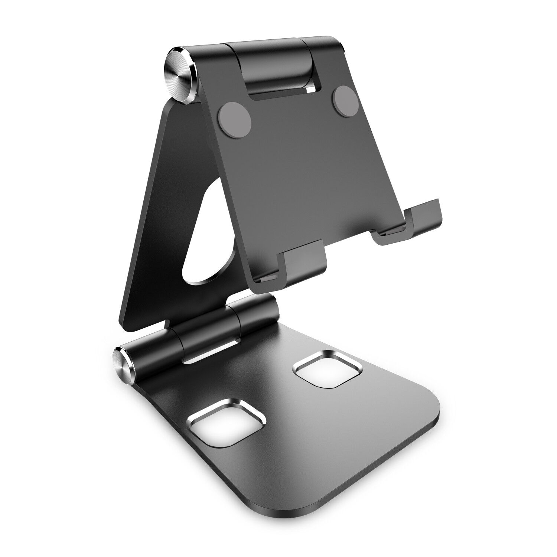 BERTRONIC Companion Handy & Tablet Ständer ★ Halterung aus Aluminium ★ Drehbar
