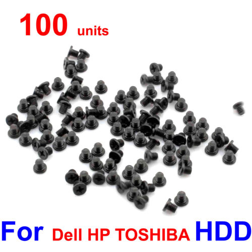 """100pcs/Lot Laptop 2.5"""" HDD Hard Drive Caddy Screws for Dell HP IBM TOSHIBA ASUS"""