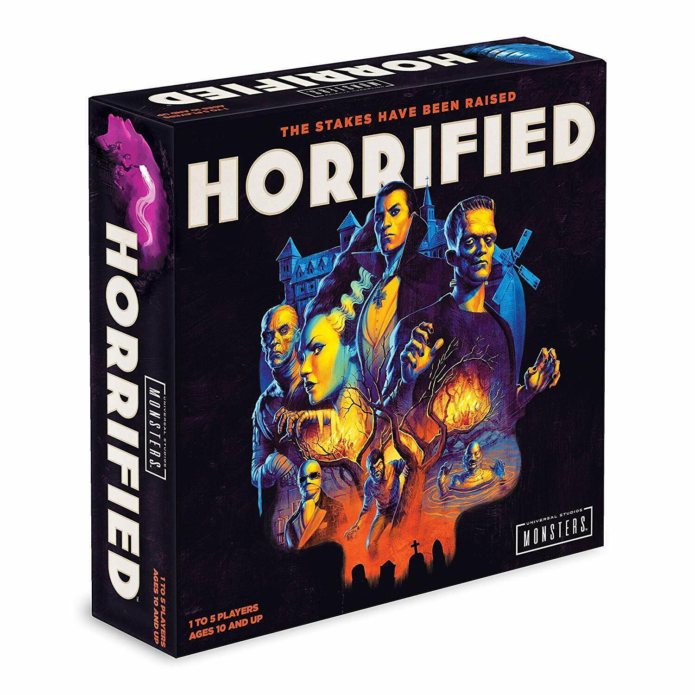 Universal Monsters Horrified Game Strategy Ravensburger Boar