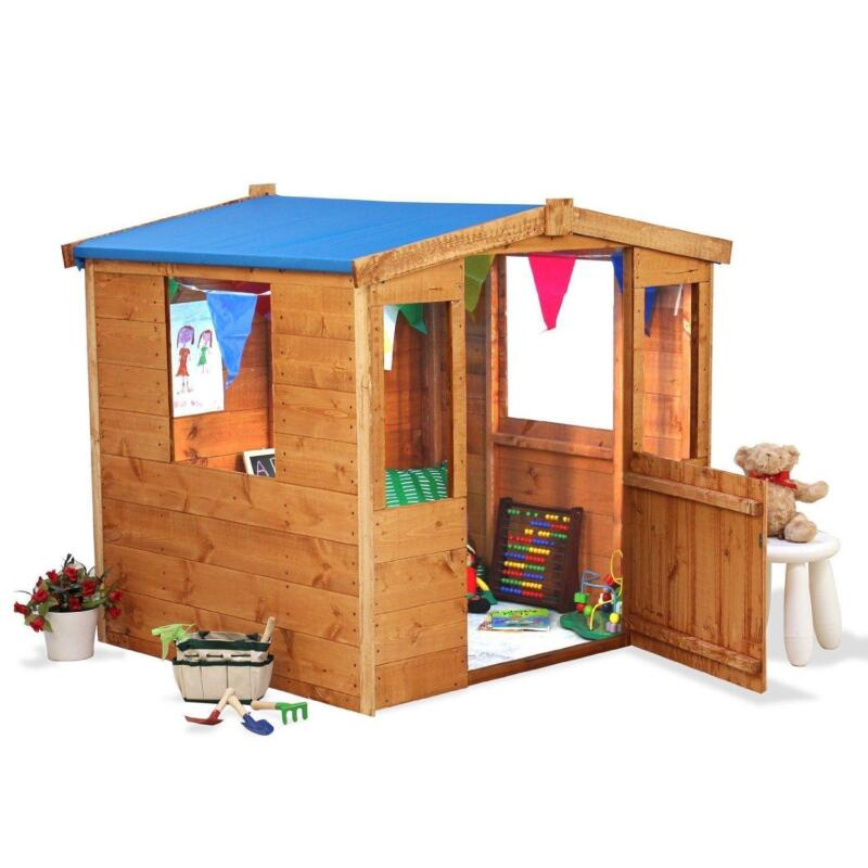 Wooden Playhouse Childrens Garden Playhouses Ebay