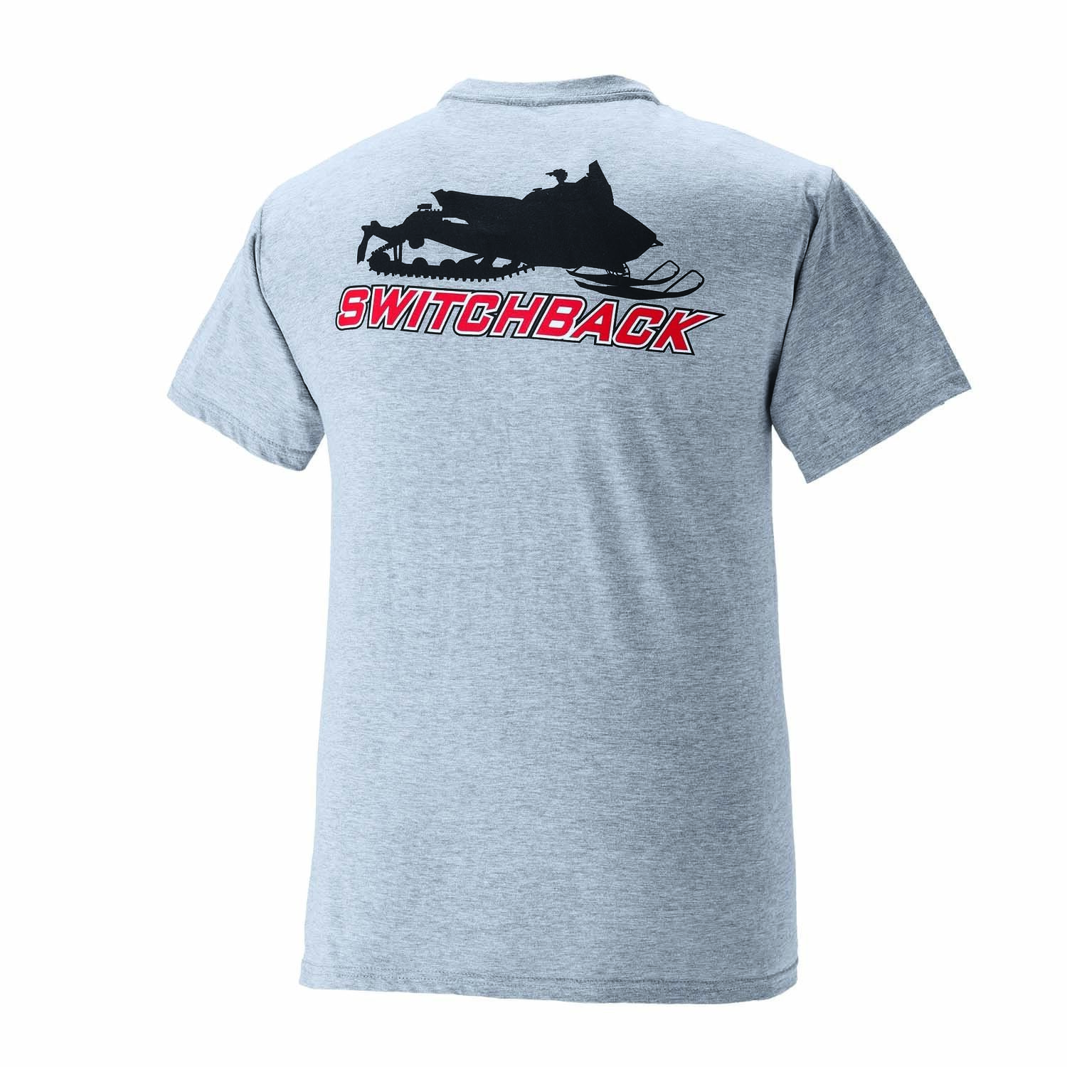 New Polaris Men's Switchback Tee - Gray - 2868566