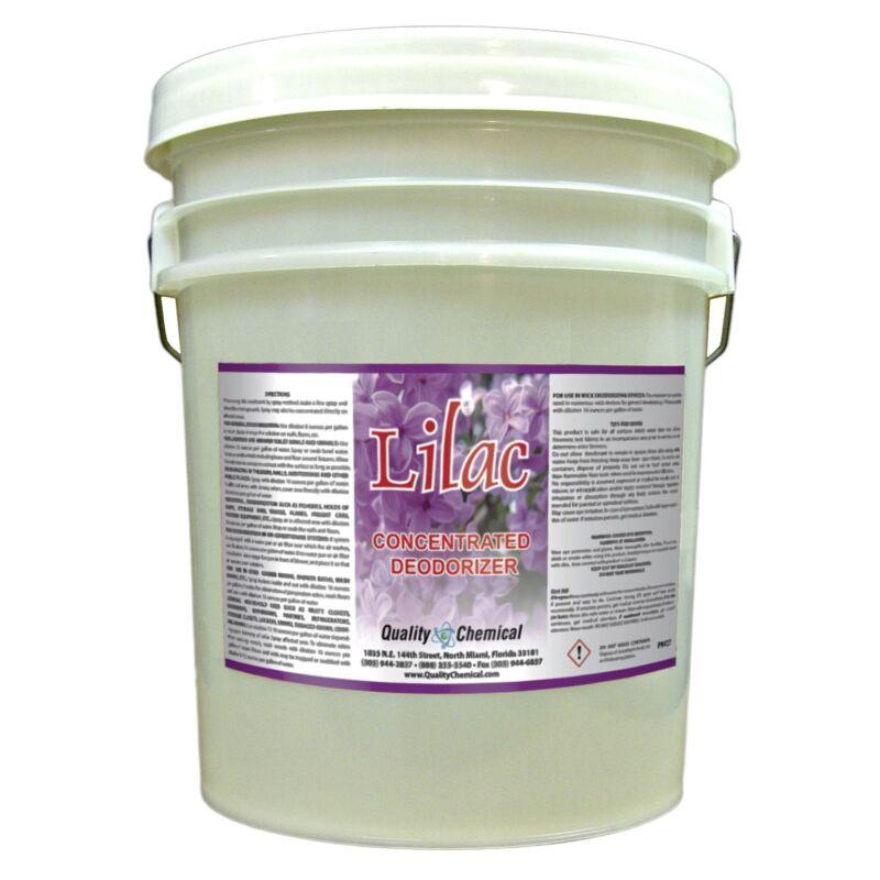 Lilac Deodorizer - Concentrated Lavender deodorant - 5 gallon pail