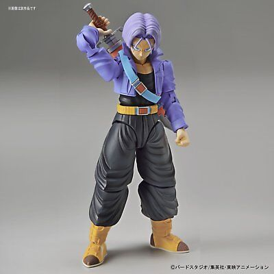 Super Saiyan Trunks Dragon Ball Z Bandai Figure-rise Model Kit Authenic