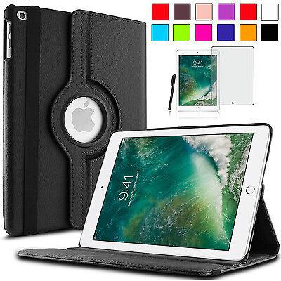 360°Apple iPad 9.7 (2017 / 2018) New Schutz Hülle Case Etui Tasche +Pen+Folie