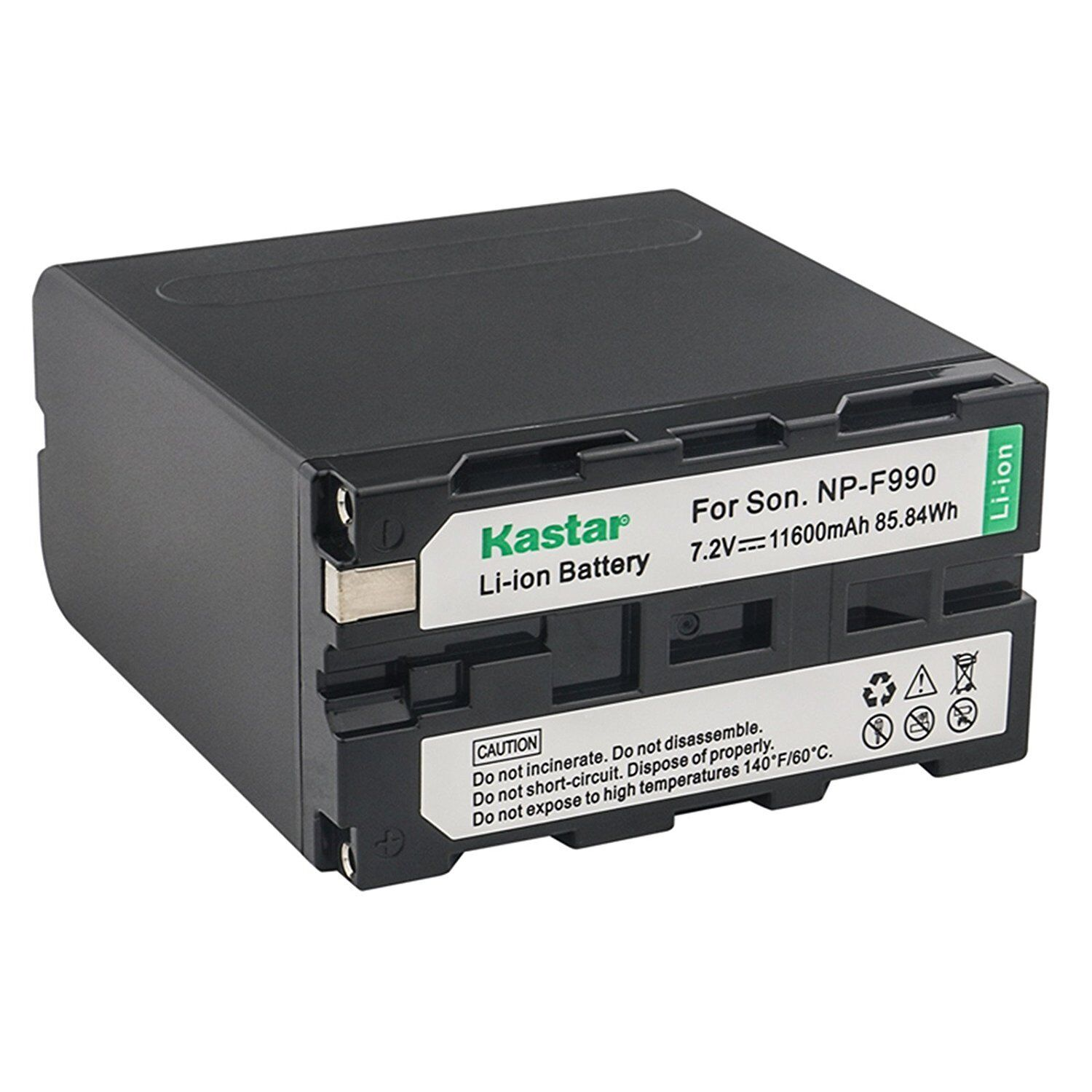 1x Kastar Battery For Sony Np-f990 Hvr-hd1000u Z1u Z5u Z7...