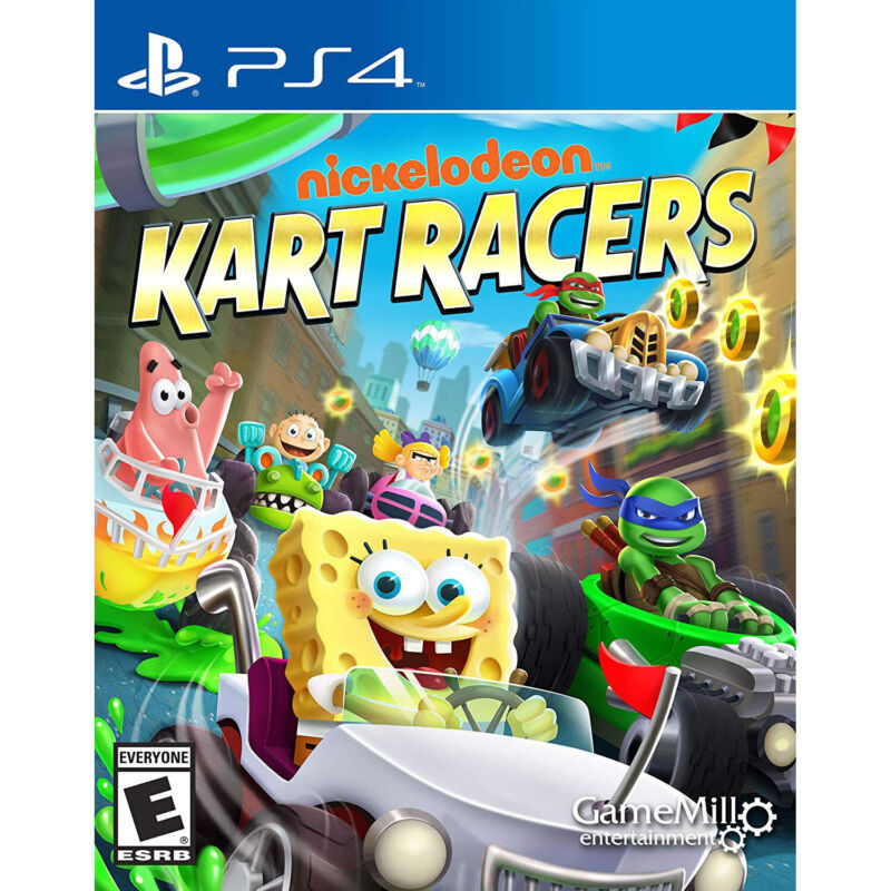 Nickelodeon Kart Racers PS4 [Brand New]
