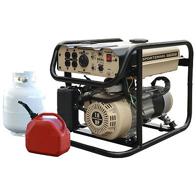 Sportsman GEN4000DF-SS 4000 Watt Portable Dual Fuel Generator - RV Ready