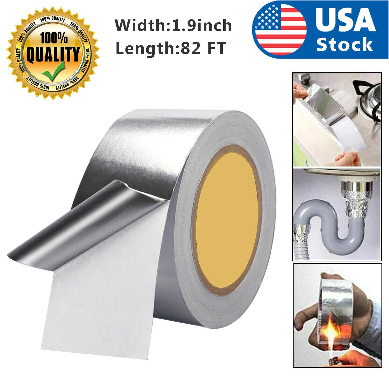 82FT Waterproof Strong Aluminum Foil Tape Butyl Seal Magic Repair Adhesive USA Adhesives & Tape