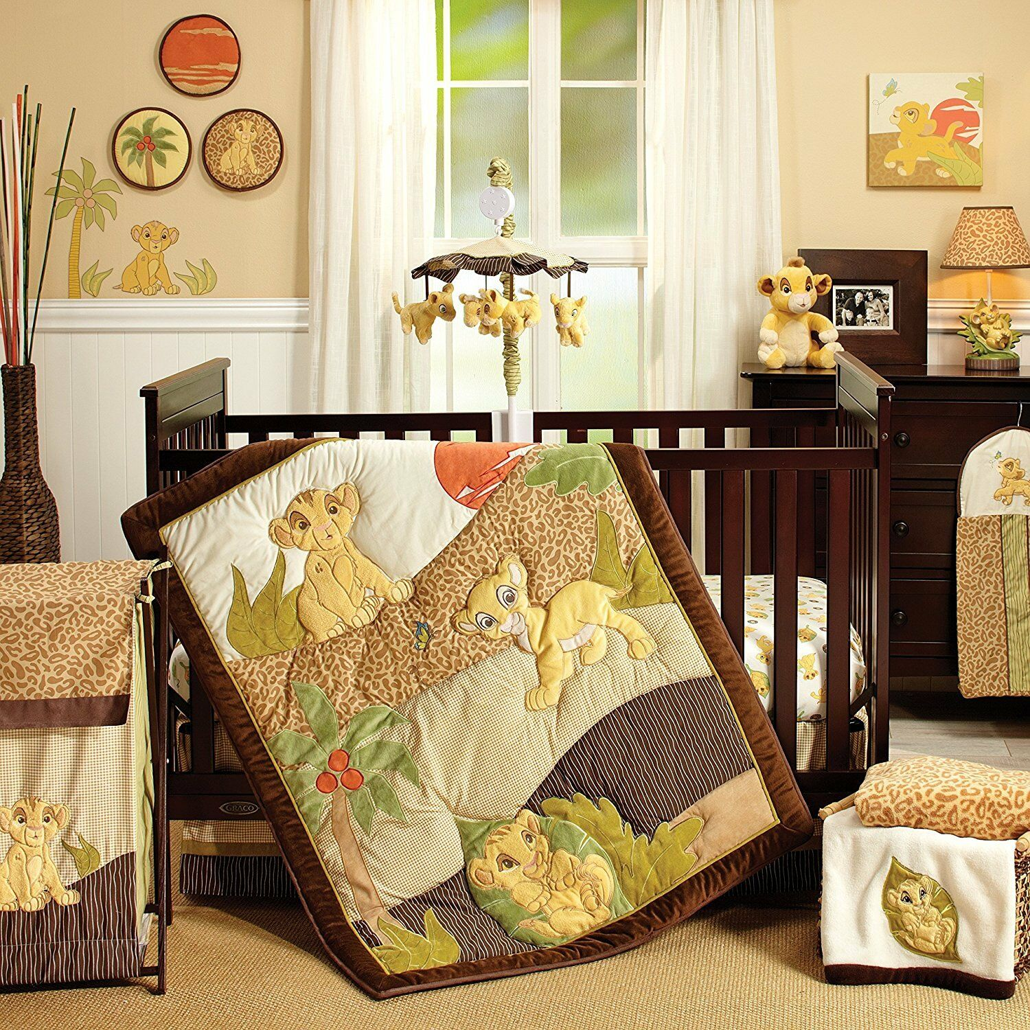 Disney Baby - Lion King 7 Piece Crib Set