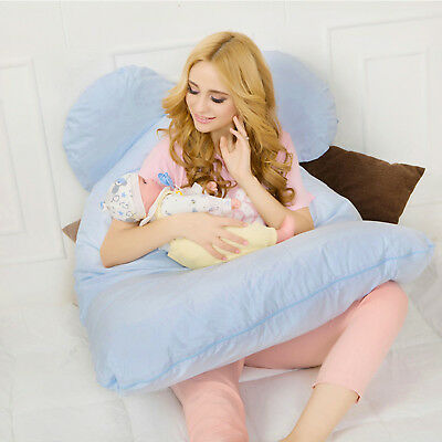 Comfortable Body Pillow Pregnant Women Best for Side Sleeper Belly Waist